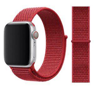 NEW[BAND] RED Strap Loop For Apple Watch